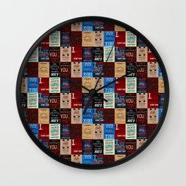Music Madness Wall Clock