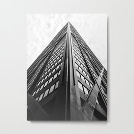John Hancock Tower Metal Print