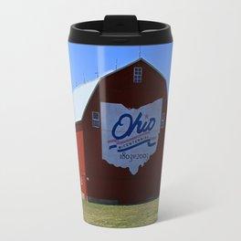 Bicentennial Barn (Huron County- Olena, OH) Travel Mug