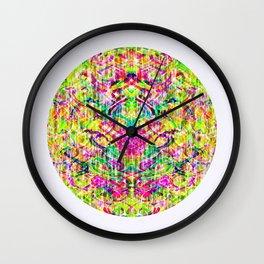 Mendhi Coloured Wall Clock