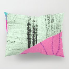 abstract collage Pillow Sham
