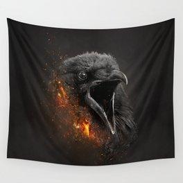 XTINCT x Raven Wall Tapestry
