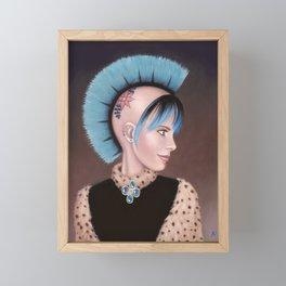 Lady Evangeline Framed Mini Art Print
