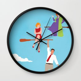 Bewitched  Wall Clock