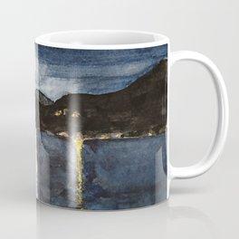 full moon by the sea Coffee Mug