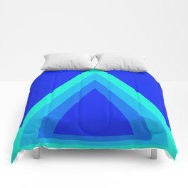 Homage to the Triangle Comforters