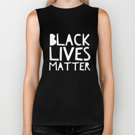 Black Lives Matter 3 Biker Tank