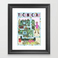 technician Framed Art Print