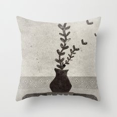 vv Throw Pillow