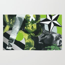 Consumable Goods (Green) Rug