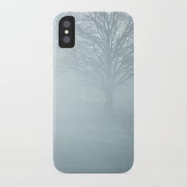 Tree / Winter Silence iPhone Case