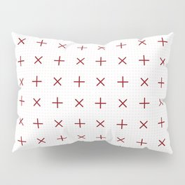 Pluses and Crosses Pillow Sham