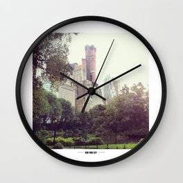 NYC Central Park Wall Clock