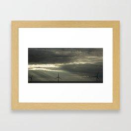 Sunbeams Framed Art Print