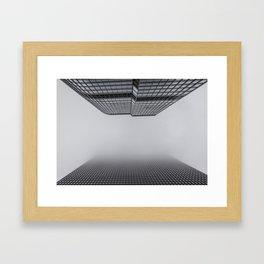 Foggy Chicago Morning 003 Framed Art Print