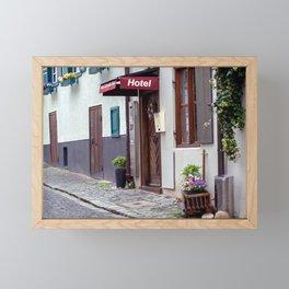 D - Ulm Hotel norrow Hotel Framed Mini Art Print