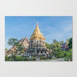 Wat Chiang Man II_Thailand Canvas Print