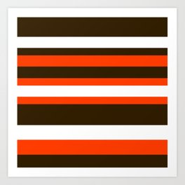 Cleveland Colors Art Print