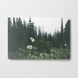 Forest Blooms Metal Print