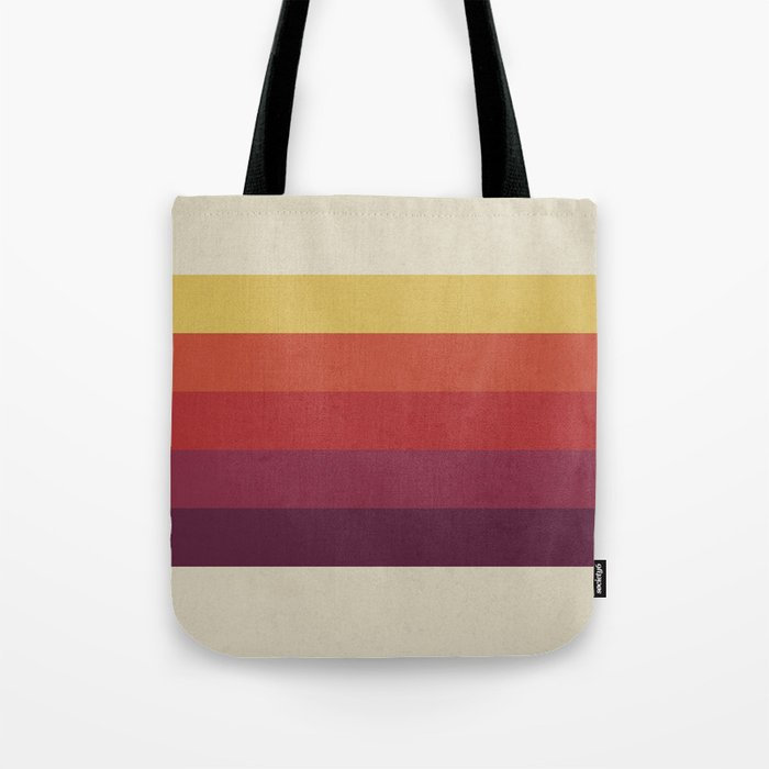 Retro Video Cassette Color Palette Tote Bag