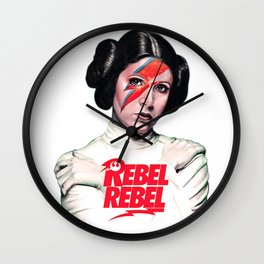 Princess Rebel Wall Clock