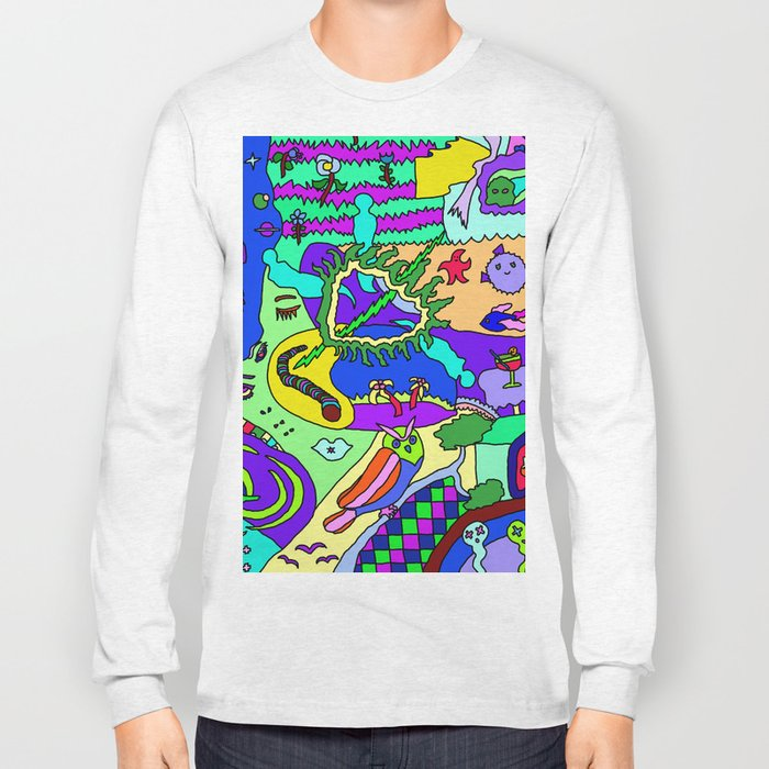 Abstract 20 Long Sleeve T-shirt