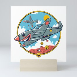 Kamikaze Likes and Smiles Mini Art Print