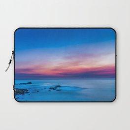 Sunset long exposure over the ocean Laptop Sleeve