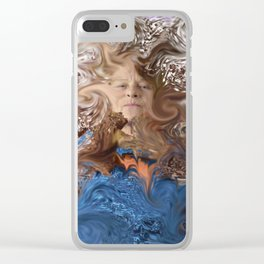 Individuality Clear iPhone Case