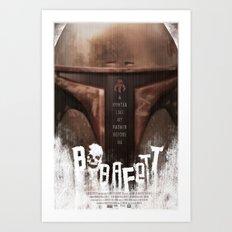 Bobb Fett Art Print