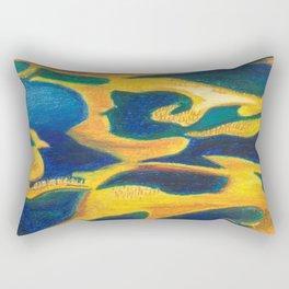 The lagoon Rectangular Pillow