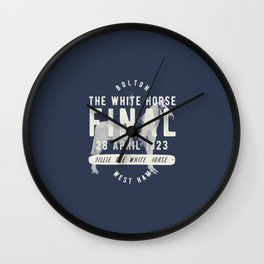 White Horse Cup Final 1923 Wall Clock
