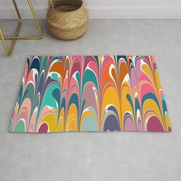 Colorful Abstract Design Rug