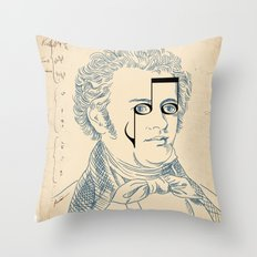 Franz Schubert Throw Pillow