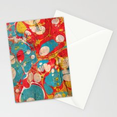 Abstract Painting ; Aurora Stationery Cards