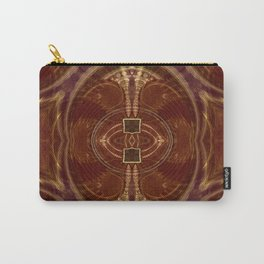Tribal Swirl Carry-All Pouch