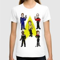 picard T-shirts featuring Want To Boldy Go...?  Just choose your captain! Star Trek's Sisko, Janeway, Archer, Kirk and Picard by beetoons