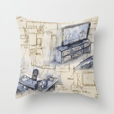 Dreaming Projects Throw Pillow
