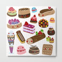 Petit Four Metal Print