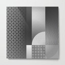 Japanese Patterns 09 Metal Print
