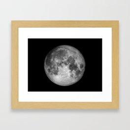Moon Full Framed Art Print