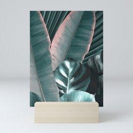 Tropical Leaves 2 Mini Art Print