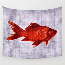 Salty Fish Wall Tapestry