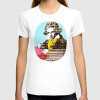 beethoven T-shirts featuring Ludwig van Beethoven 4 by Marko Köppe