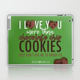 I Love You More Than... Laptop & iPad Skin