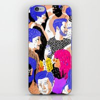 melbourne iPhone & iPod Skins featuring Collingwood, Melbourne by Sophie Beer