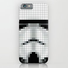 Stormtrooper : 8 Bit Pixel Slim Case iPhone 6s