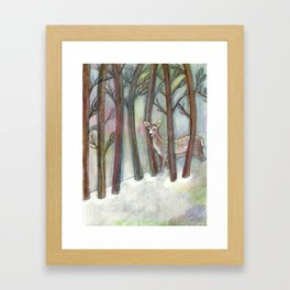 Forestry Framed Art Print