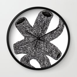 Artificial Vein Wall Clock
