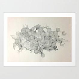 Embrace your randomness Art Print